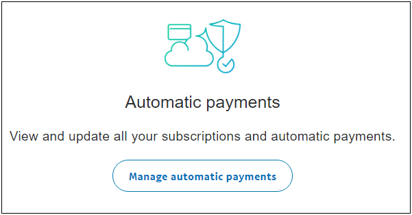 Payment Automatic
