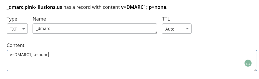 TXT Records in Cloudflare